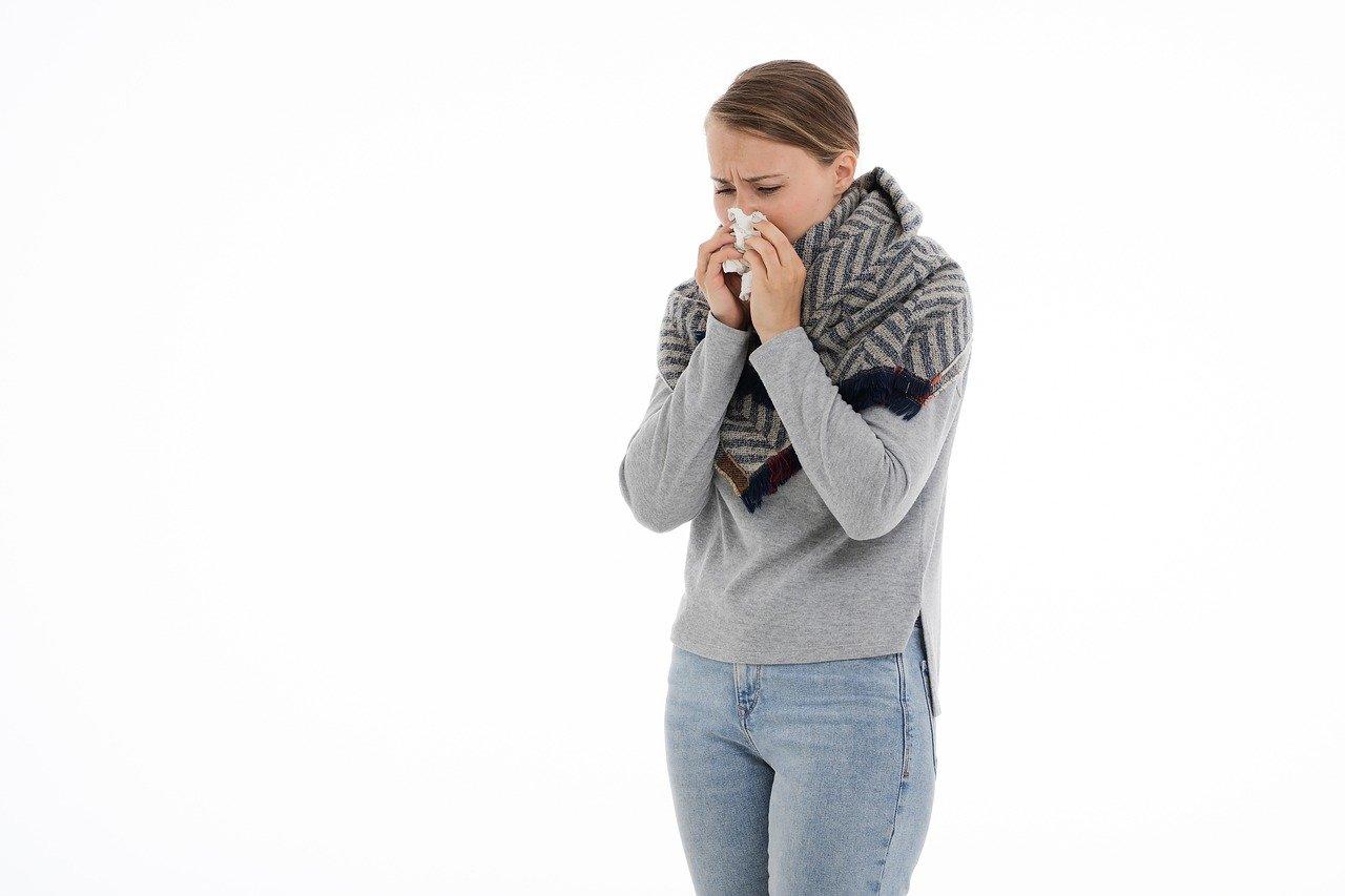 Praca w domu z alergią