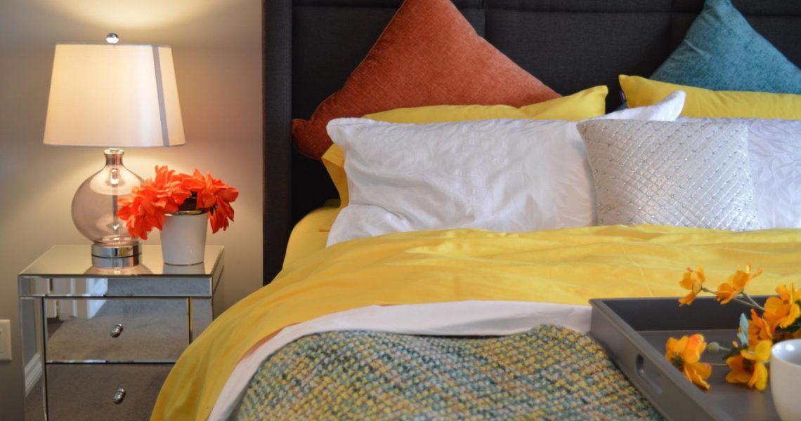 Szybka metamorfoza sypialni, czyli tani remont w jeden weekend